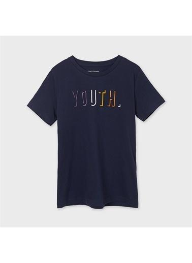 Mayoral Mayoral Erkek Çocuk Baskili Tshirt Lacivert 20198 Lacivert